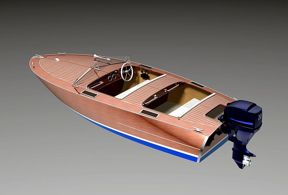 проект моторная лодка 4 метра