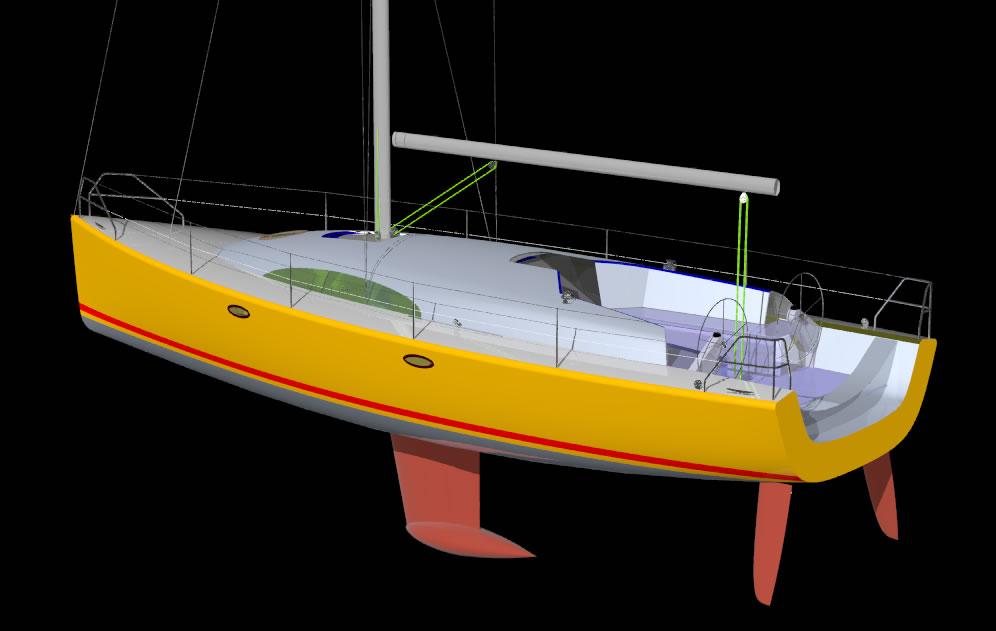 яхта легкого водоизмещения