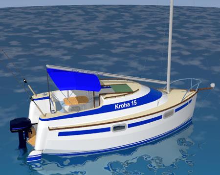 Мини яхта своими руками 669