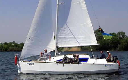 самодельная яхта 7 метров