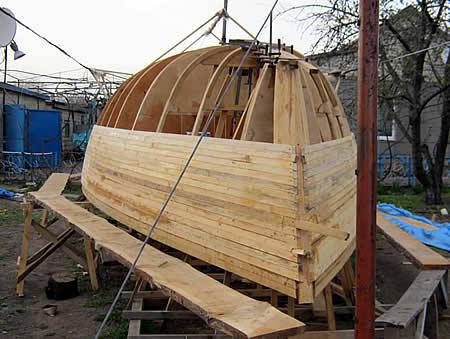 Построить яхту из дерева